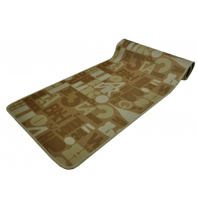 Lettere Liscio 50 cm wide kitchen rug.
