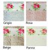 Flora tappeto bagno resinato varie misure