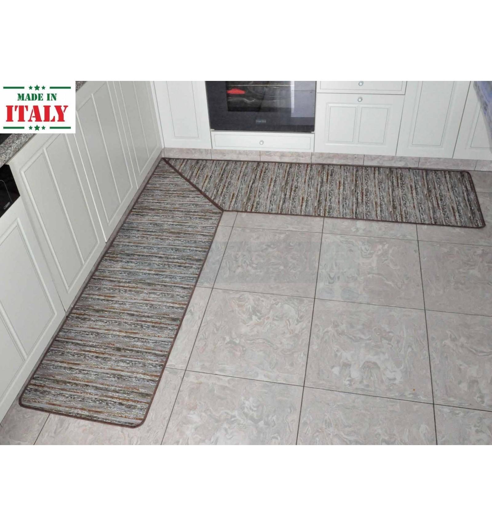 Angolo a 45 gradi su tappeto servizio di taglio su misura - CASA TESSILE