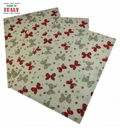Farfalle Kitchen towels 50 x 70 cm 3 PCs nr